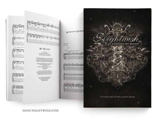 NIGHTWISH - Endless Forms Most Beautiful Guitar Tablature