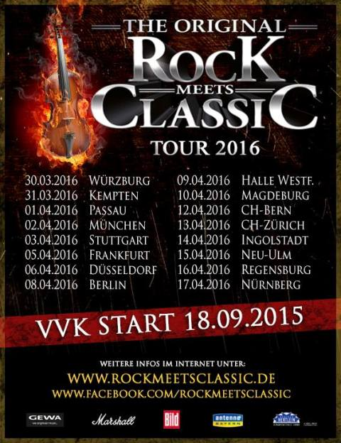 ROCK MEETS CLASSIC Announce European Tour Dates For 2016 ...