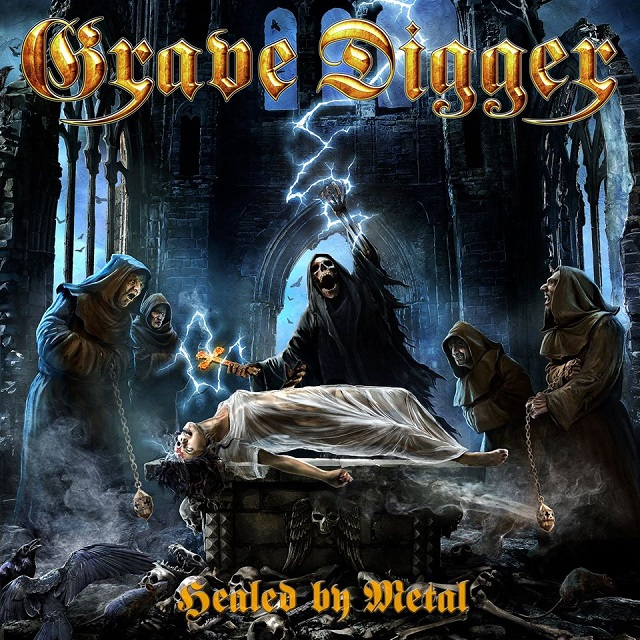 "GRAVE DIGGER - ""Healed By Metal"" (Napalm)"
