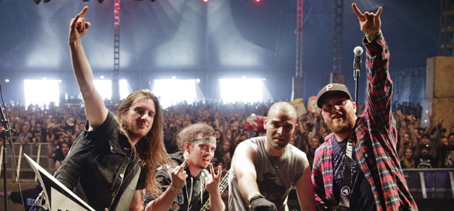 "Metal Battle Winners MUTANK Write About Trip To Wacken Holy Land - ""What Has 160,000 Feet And Headbangs For Three Days Straight?"""