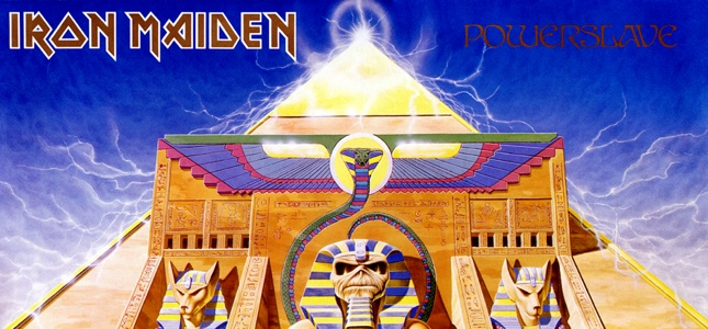 iron maiden powerslave s 30th birthday i don t know how i did it because i felt at death s. Black Bedroom Furniture Sets. Home Design Ideas