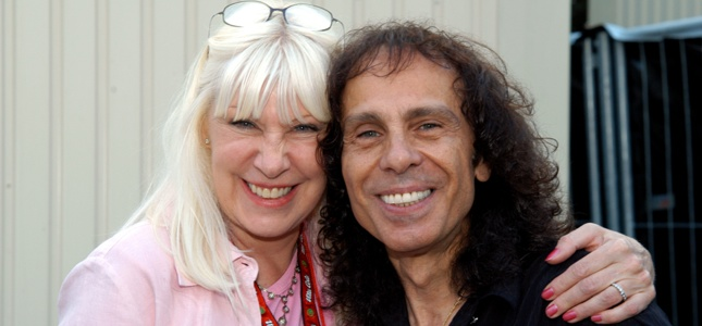 WENDY DIO Talks 5th Year RONNIE JAMES DIO Celebrations, HEAR N' AID, Classic BLACK SABBATH, DIO Releases