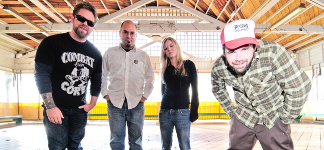 "AGORAPHOBIC NOSEBLEED - ""Composing An Entire Doom/Stoner Rock EP Was Definitely A Departure"""