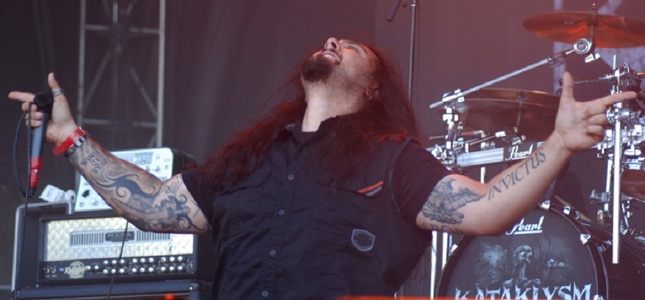 KATAKLYSM Mainman Talks Trophies And Beer At Heavy Montréal!