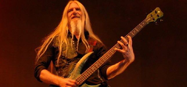 NIGHTWISH Bassist MARCO HIETALA Volleys Balls With BraveWords At Heavy Montréal!
