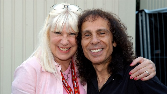 "WENDY DIO - ""My Whole Thing Is To Keep RONNIE's Music And His Legacy Alive"""