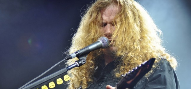 "MEGADETH's DAVE MUSTAINE - ""Would I Want To Do A Hologram For Gar And Nick? Yeah, Absolutely"""