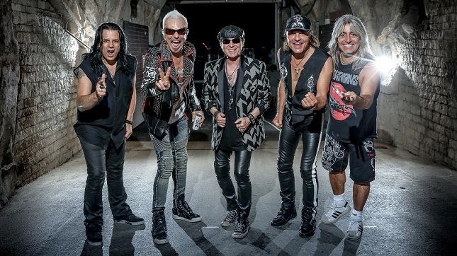 "SCORPIONS – ""Not Only Can We Rock Really Hard, We Can Also Go Deep Down Into The Emotions"""