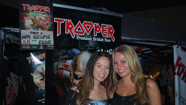 IRON MAIDEN's Trooper Beer Cans Invade The Sweaty US South!