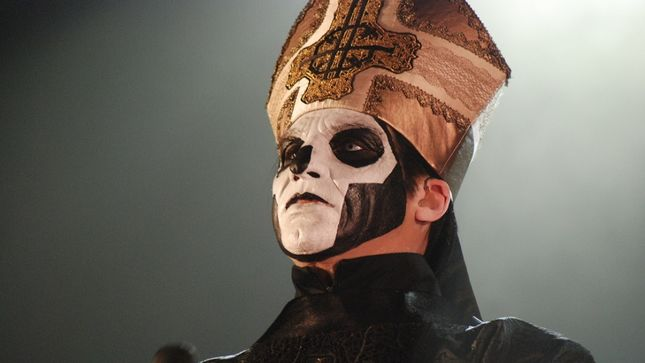 GHOST - Good Pope vs. Bad Pope: Pontiff & Unholy Ghost Duke It Out In Philly!
