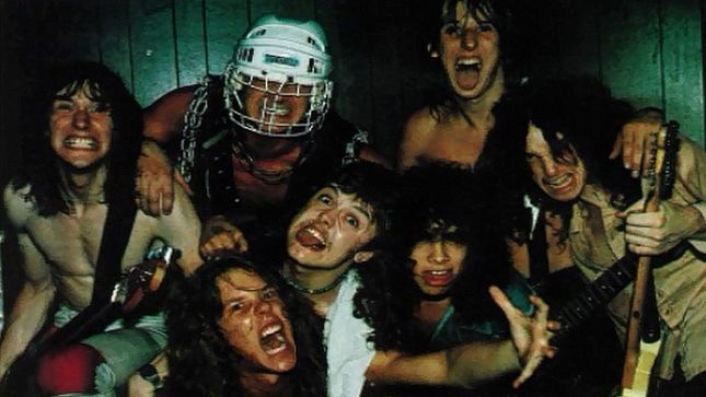1983: THE ORIGINAL BIG 4 - METALLICA, EXCITER, RAVEN & ANVIL