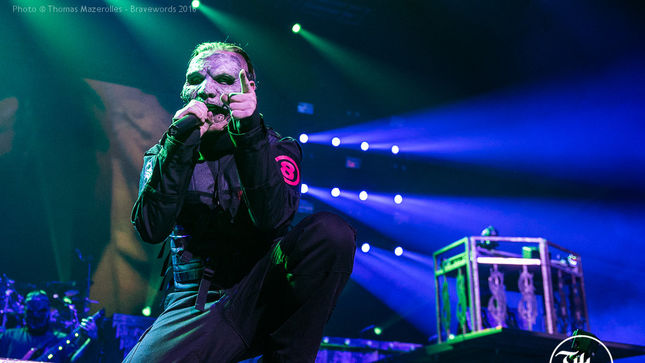 SLIPKNOT - COREY TAYLOR Conquers Neck Surgery In Montreal