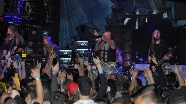 SABATON – Opening(?) For TRIVIUM In NYC!