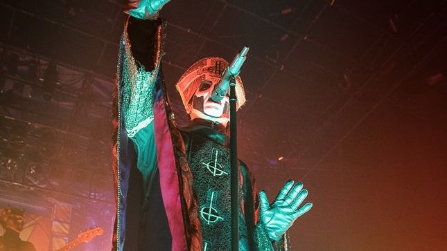 GHOST – Popestar Reigns In Montreal!