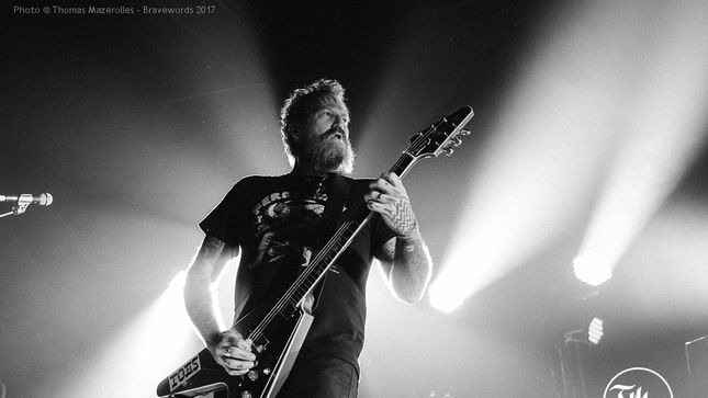 MASTODON Cracks Montreal
