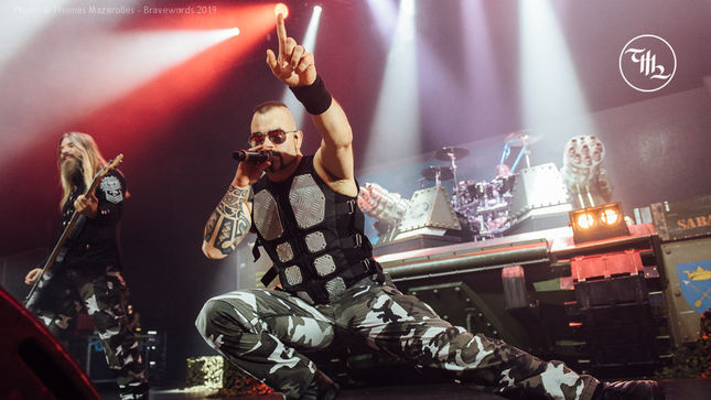 SABATON – The Tank Steamrolls Montreal!