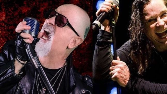 ROB HALFORD Reminisces About Covering For OZZY!