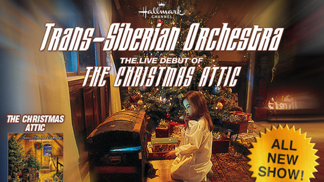 TRANS-SIBERIAN ORCHESTRA - The Christmas Attic 2014 Winter Tour ...