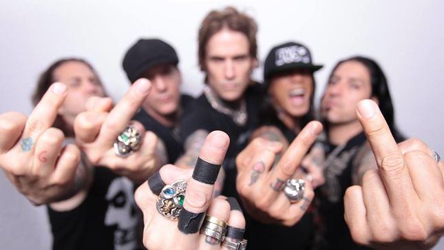 "BUCKCHERRY - New Song ""Somebody Fucked With Me"" Available For Streaming"