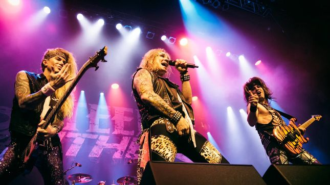 "STEEL PANTHER Guitarist Satchel - ""We've Built Our Entire Show On Winning People Over"""