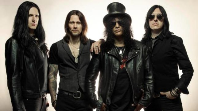 SLASH - New Album Featured On Metal Express Radio's Daily Album Premiere Today