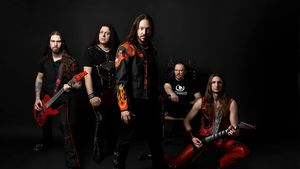 HAMMERFALL - Legacy Of Kings Single Malt Whiskey Coming In October; Oscar Dronjak Takes Nobody Expects The Spanish Inquisition Quiz, Video