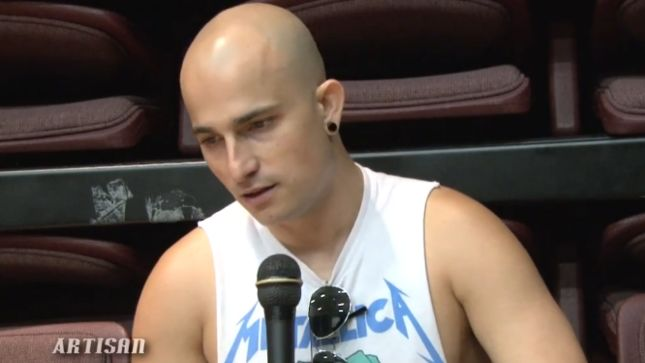 TRIVIUM's Paolo Gregoletto Talks Vengeance Falls Album Concept; Video