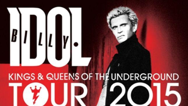 billy idol tour 2017