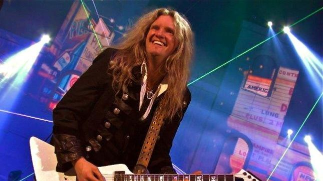 "WHITESNAKE Guitarist Joel Hoekstra Featured On The Double Stop Podcast - ""I Remember Begging My Mom To Let Me Drop Out Of High School So I Could Practice Guitar More"""