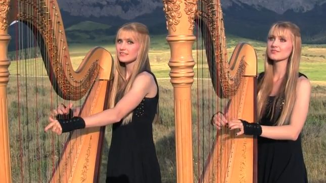 The Harp Twins Camille Kennerly Cover Journeys Dont Stop