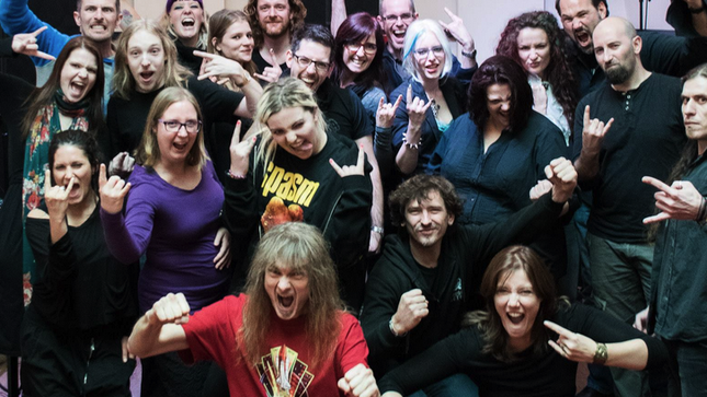 THE GENTLE STORM - Debut Album To Feature EPIC ROCK CHOIR From