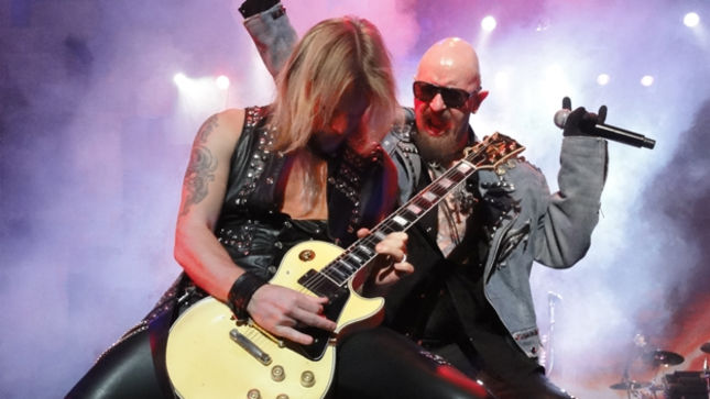 JUDAS PRIEST's Richie Faulkner Uploads Live Video Footage From Utah