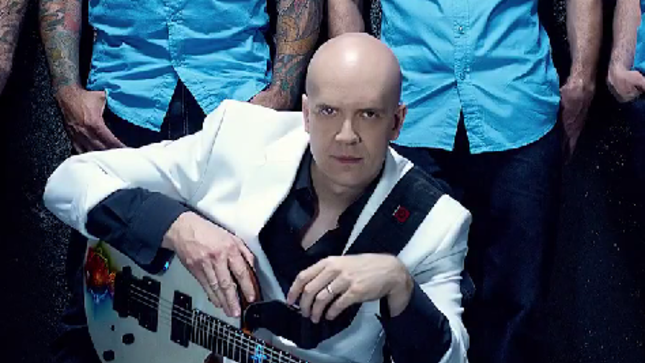 "DEVIN TOWNSEND Issues Video Update - ""It Is Great To Be Alive In 2015"""