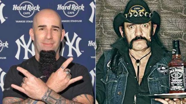 "ANTHRAX Guitarist Scott Ian Talks MOTÖRHEAD Legend Lemmy - ""From Early On He Was An Icon; He Was Almost Like a Mythical Creature"""