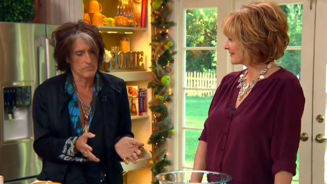 AEROSMITH Guitarist JOE PERRY Cooks On Hallmark Channel's Home & Family; Video Posted