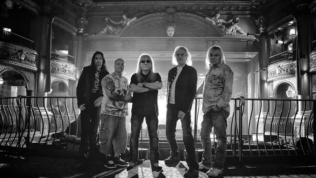 URIAH HEEP – Live At Koko To Be Released In February; Artwork Revealed