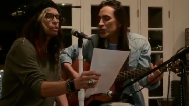 NUNO BETTENCOURT To Perform With STEVEN TYLER At 21st Nobel Peace Prize Concert In Norway; Rehearsal Clip Posted