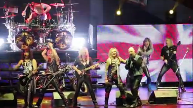 "JUDAS PRIEST And STEEL PANTHER Jam ""Living After Midnight"" Live On Stage In Tacoma; Fan-Filmed Video Online"