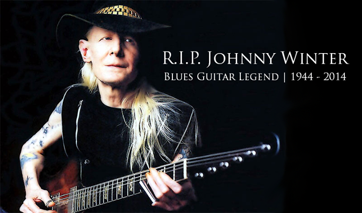 "JOHNNY WINTER - R.I.P. JOHNNY WINTER - ""We're Just Going To Keep Doing The Same Stuff Until I Die!"""