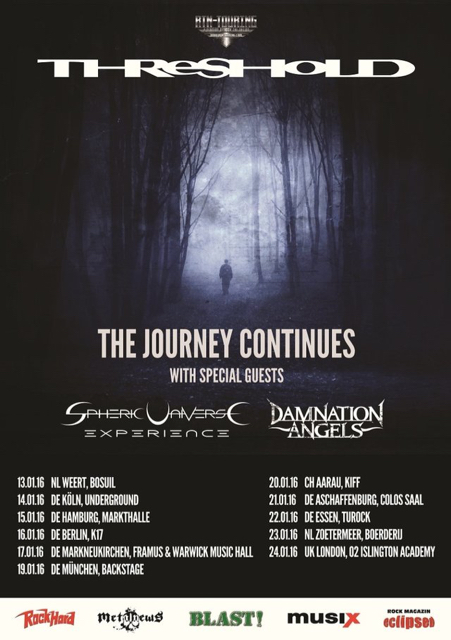 threshold announce the journey continues european tour 2016. Black Bedroom Furniture Sets. Home Design Ideas