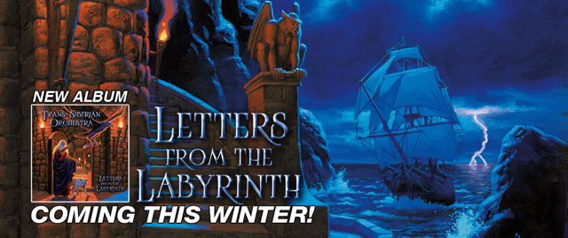 TRANS-SIBERIAN ORCHESTRA Announces Letters From The Labyrinth ...