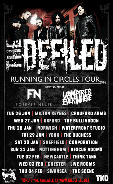 The Defiled Uk Tour Dates