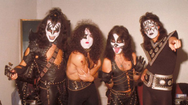 KISS - 1974 Hotter Than Hell Studio Log Book Among New Auction Items