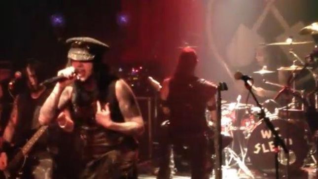 "WEDNESDAY 13 - Video Of ""Monsters Of The Universe"" Live In Atlanta"