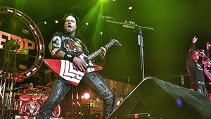FIVE FINGER DEATH PUNCH Guitarist Jason Hook Talks New Album With Eric Blair At NAMM 2015; Video Available