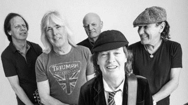 AC/DC Unveil Official Photo Of New Lineup
