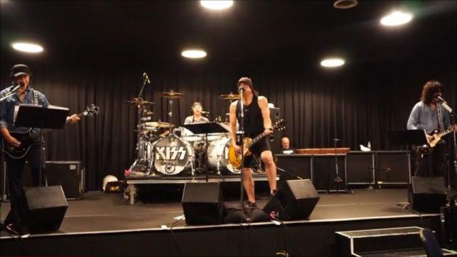 "KISS Rehearsing ""Samurai Son"" For Japanese Tour; Video"