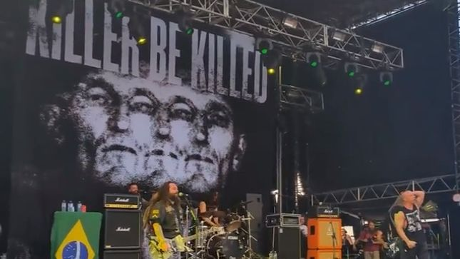 Killer Be Killed Video Footage Of First Live Show