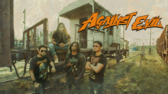 "India's AGAINST EVIL Streaming Debut Single ""War Hero"""