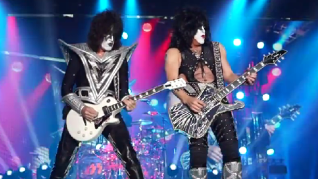 KISS - Live Clip From Japanese Tour Posted
